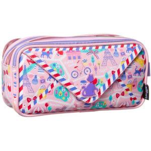 SMIGGLE Explore Post Kids School Pencil Case – Pink