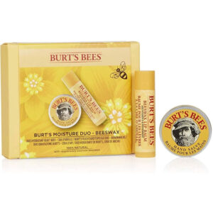 BURT'S BEES Natural Moisture Duo 2 Piece Moisturising Gift Set – Beeswax