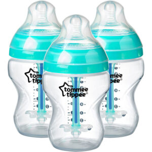 TOMMEE TIPPEE Advanced Anti-Colic Baby Bottles 260ml Set of 3