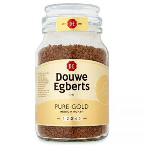 DOUWE EGBERTS Pure Gold Medium Roast Instant Coffee 190g