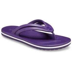 CROCS Womens Crocband Flip MULBERRY Size UK5 / US7