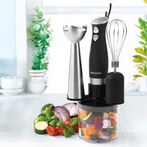 SALTER 3-in-1 Blender Set – Black