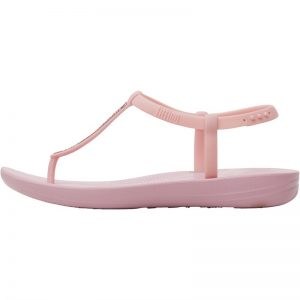 FITFLOP IQUSHION Splash Sparkle Strapped – Pink Nectar UK7
