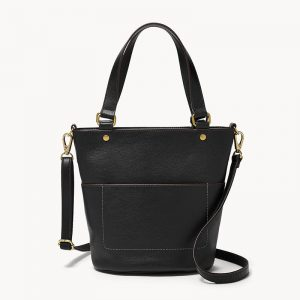 FOSSIL Amelia Small Bucket Bag SHB2393001 – Black