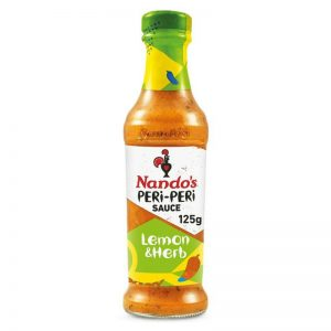 NANDO'S Peri-Peri Sauce Lemon and Herb Extra Mild 250g