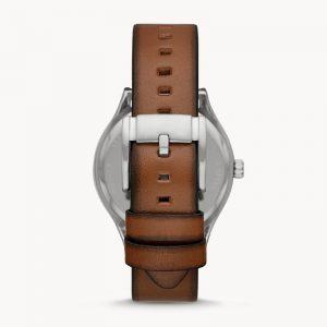 FOSSIL Wylie Three-hand Luggage Leather Watch BQ2487