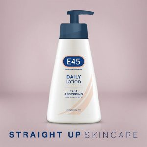E45 Daily Moisturising Lotion 400ml x Pack of 5 (Total 2L)