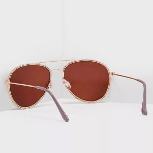 DOROTHY PERKINS Grey Aviator Sunglasses 11202215