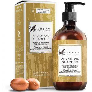 ECLAT Pure Argan Oil Shampoo 5X More Moisturising Omega 6 100% Vegan