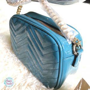 CLARKS Halomancy Art Teal Handbag