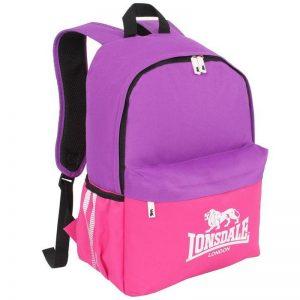 LONSDALE Pocket Backpack Colour Purple/Pink