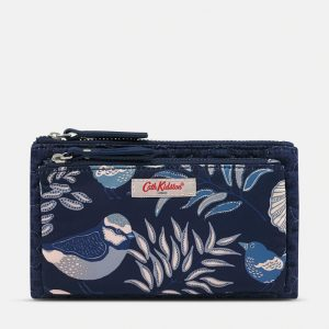 CATH KIDSTON Embroidered Double Pouch – Navy